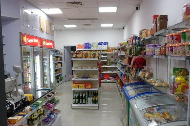小型超市装修有几个亮点更具美感呢?